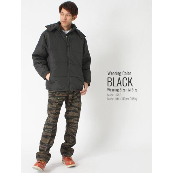 プロクラブ 中綿ジャケット メンズ|大きいサイズ USAモデル ブランド PRO CLUB|防寒 撥水 アウター ブルゾン XL LL|f-box|09
