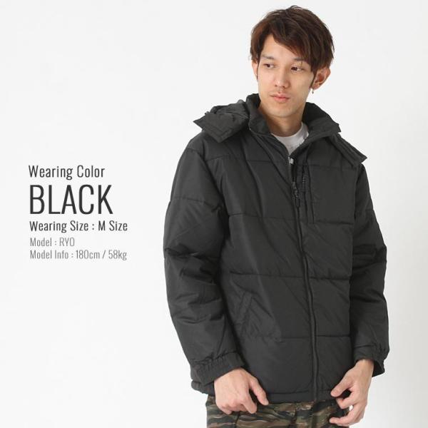 プロクラブ 中綿ジャケット メンズ|大きいサイズ USAモデル ブランド PRO CLUB|防寒 撥水 アウター ブルゾン XL LL|f-box|10