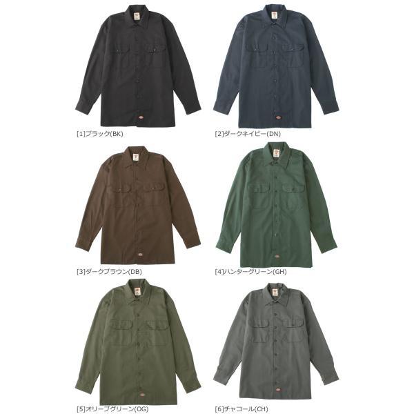 ディッキーズ (Dickies) ワークシャツ ディッキーズ シャツ メンズ 長袖 ワークシャツ メンズ 長袖 大きいサイズ メンズ アメカジ メンズ シャツ f-box 05