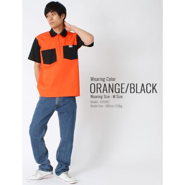 ベンデイビス シャツ 半袖 ハーフジップ メンズ ワークシャツ 大きいサイズ USAモデル|ブランド BEN DAVIS|半袖シャツ アメカジ|f-box|08