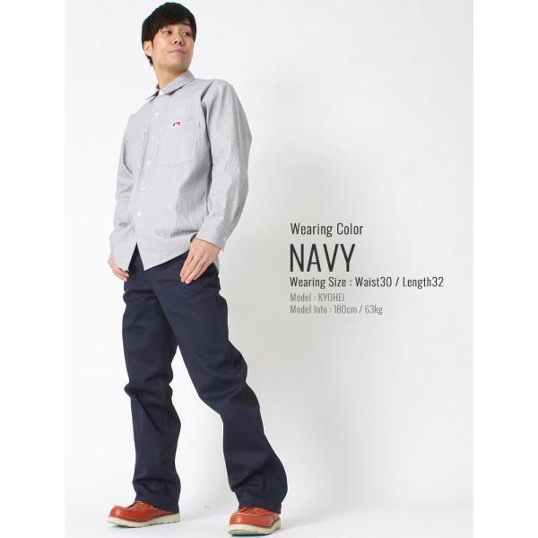 ベンデイビス ワークパンツ メンズ 大きいサイズ USAモデル|ブランド BEN DAVIS|アメカジ チノパン 作業着 作業服|f-box|09