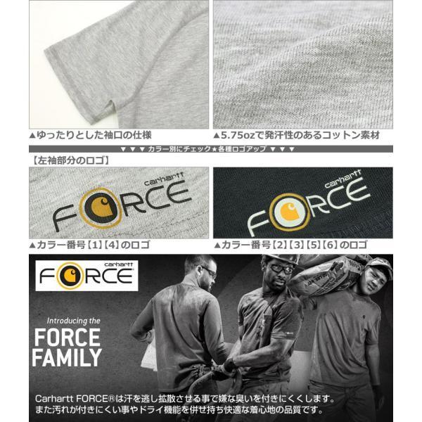 カーハート Tシャツ 半袖 ポケット ヘンリーネック メンズ 5.75oz 大きいサイズ 100413 USAモデル│ブランド 半袖Tシャツ アメカジ|f-box|04