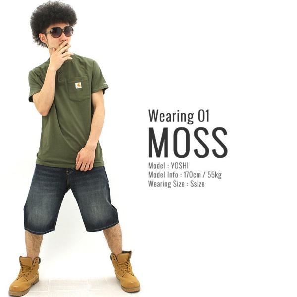 カーハート Tシャツ 半袖 ポケット ヘンリーネック メンズ 5.75oz 大きいサイズ 100413 USAモデル│ブランド 半袖Tシャツ アメカジ|f-box|05