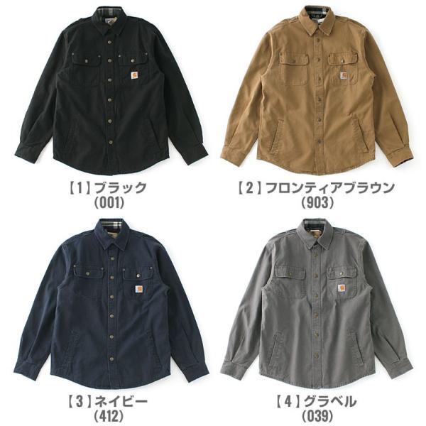 カーハート CARHARTT カーハート ジャケット メンズ 秋冬 シャツジャケット 大きいサイズ メンズ 作業着 作業服 f-box 02