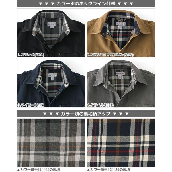 カーハート CARHARTT カーハート ジャケット メンズ 秋冬 シャツジャケット 大きいサイズ メンズ 作業着 作業服 f-box 05