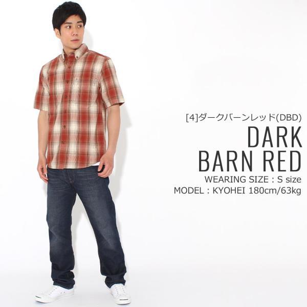 カーハート シャツ 半袖 ボタンダウン ポケット チェック柄 薄手 メンズ 104174 USAモデル|ブランド Carhartt|チェックシャツ アメカジ|f-box|18