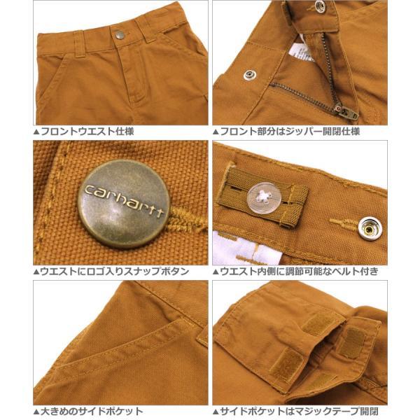 [キッズ] カーハート ハーフパンツ USAモデル ボーイズ│ブランド ショートパンツ 半ズボン ロゴ|f-box|04