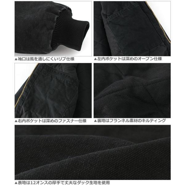 カーハート ジャケット メンズ アクティブジャケット 大きいサイズ j130 USAモデル│ブランド ダックジャケット ワークジャケット カバーオール 防寒 f-box 04