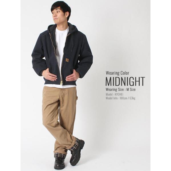 カーハート ジャケット メンズ アクティブジャケット 大きいサイズ j130 USAモデル│ブランド ダックジャケット ワークジャケット カバーオール 防寒 f-box 10