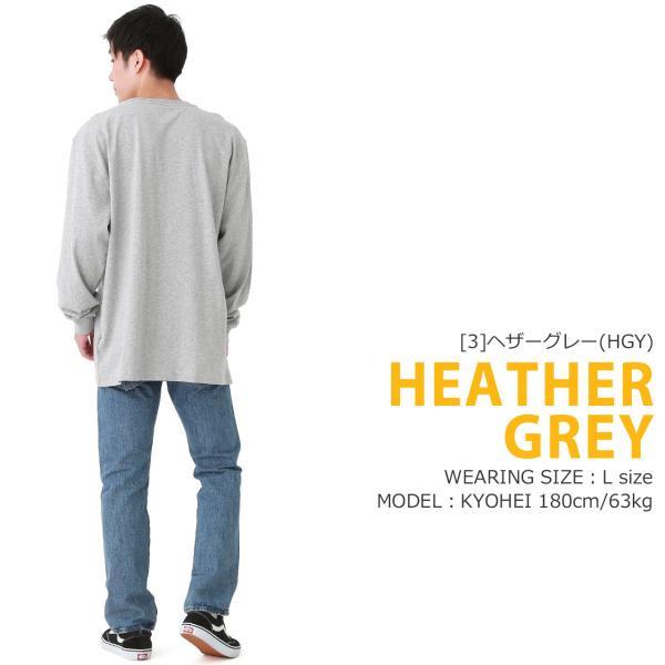 カーハート ロンT ポケット ヘンリーネック メンズ Tシャツ 長袖 6.75oz 大きいサイズ k128 USAモデル│ブランド 長袖Tシャツ アメカジ|f-box|12