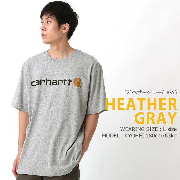 カーハート Tシャツ 半袖 クルーネック ヘビーウェイト メンズ 大きいサイズ K195 ブランド 半袖Tシャツ アメカジ USAモデル f-box 11