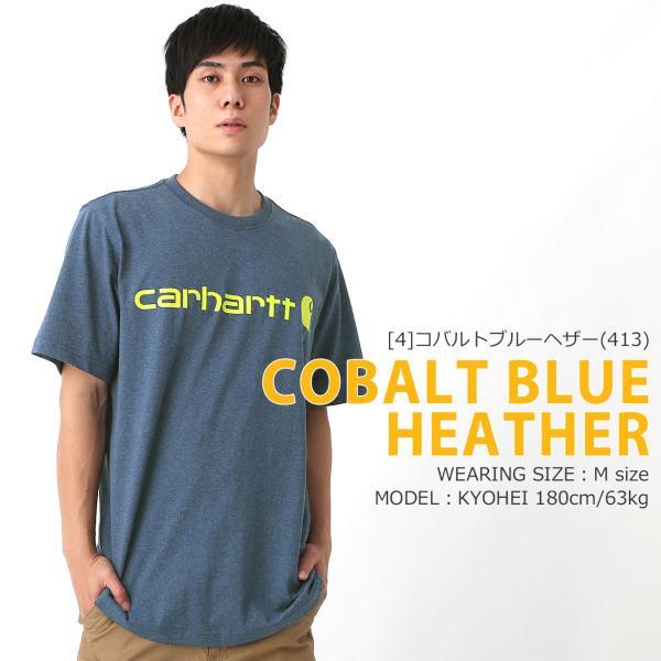 カーハート Tシャツ 半袖 クルーネック ヘビーウェイト メンズ 大きいサイズ K195 ブランド 半袖Tシャツ アメカジ USAモデル f-box 13