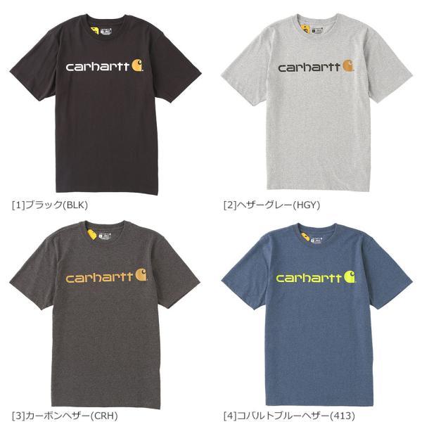 カーハート Tシャツ 半袖 クルーネック ヘビーウェイト メンズ 大きいサイズ K195 ブランド 半袖Tシャツ アメカジ USAモデル f-box 06