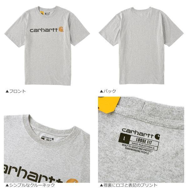 カーハート Tシャツ 半袖 クルーネック ヘビーウェイト メンズ 大きいサイズ K195 ブランド 半袖Tシャツ アメカジ USAモデル f-box 08