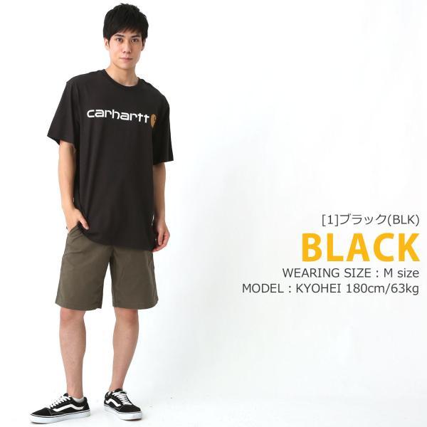 カーハート Tシャツ 半袖 クルーネック ヘビーウェイト メンズ 大きいサイズ K195 ブランド 半袖Tシャツ アメカジ USAモデル f-box 10