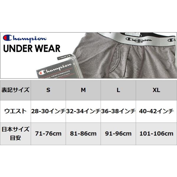 チャンピオン Champion チャンピオン ボクサーパンツ メンズ ボクサーブリース 大きいサイズ (返品・交換は不可) f-box 04