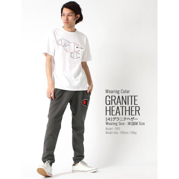 チャンピオン スウェットパンツ メンズ 大きいサイズ USAモデル リバースウィーブ|ブランド ジョガーパンツ ロゴ アメカジ|f-box|14