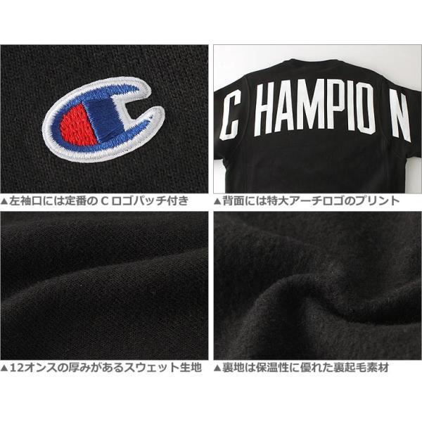 チャンピオン トレーナー 厚手 メンズ レディース バックプリント 大きいサイズ USAモデル リバースウィーブ ブランド スウェット ロゴ アメカジ 裏起毛 f-box 05