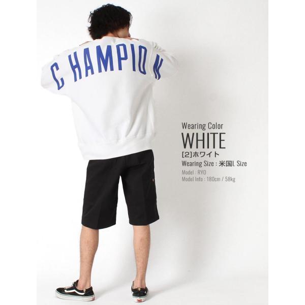 チャンピオン トレーナー 厚手 メンズ レディース バックプリント 大きいサイズ USAモデル リバースウィーブ ブランド スウェット ロゴ アメカジ 裏起毛 f-box 10