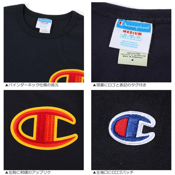 チャンピオン Tシャツ 半袖 クルーネック メンズ 大きいサイズ GT19 Y07981|ブランド アメカジ USAモデル|f-box|05