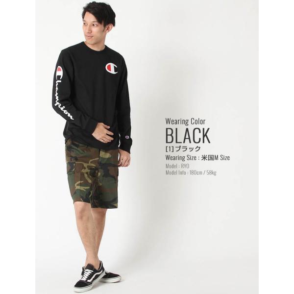 チャンピオン ライフ Tシャツ 長袖 レディース メンズ 大きいサイズ USAモデル|ブランド Champion|f-box|09