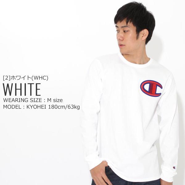 チャンピオン Tシャツ 長袖 クルーネック メンズ レディース 大きいサイズ GT47 Y07981|ブランド ロンT アメカジ USAモデル|f-box|09