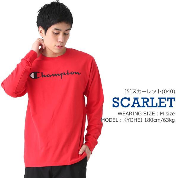 チャンピオン Tシャツ 長袖 メンズ 大きいサイズ USAモデル|ブランド ロンT 長袖Tシャツ ロゴ アメカジ|f-box|13