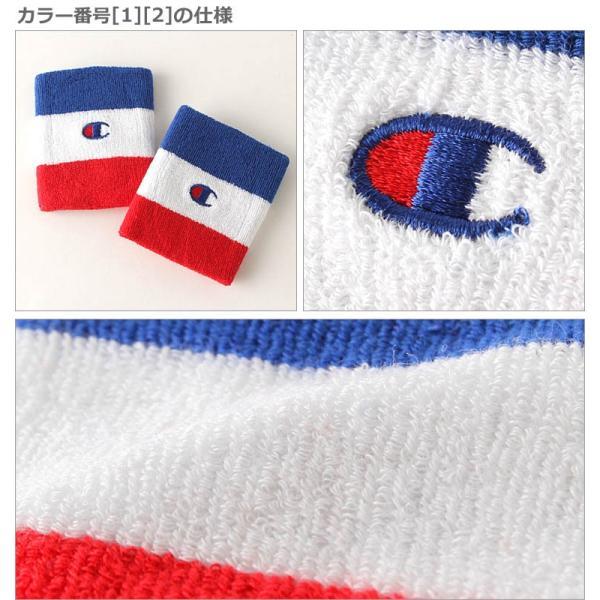 チャンピオン ライフ リストバンド 刺繍 USAモデル ブランド おしゃれ スポーツ f-box 04