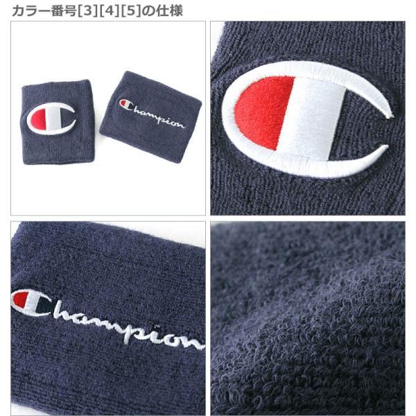チャンピオン ライフ リストバンド 刺繍 USAモデル ブランド おしゃれ スポーツ f-box 05