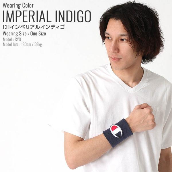 チャンピオン ライフ リストバンド 刺繍 USAモデル ブランド おしゃれ スポーツ f-box 09