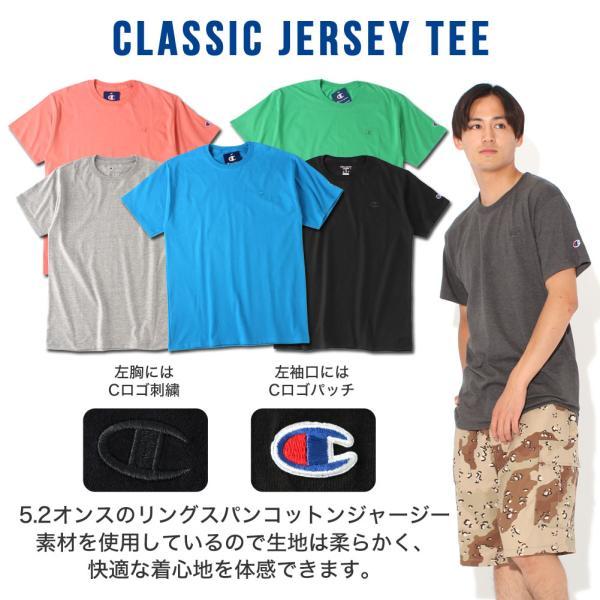 チャンピオン Tシャツ 半袖 メンズ 大きいサイズ USAモデル|ブランド 半袖Tシャツ ロゴ アメカジ|f-box|02