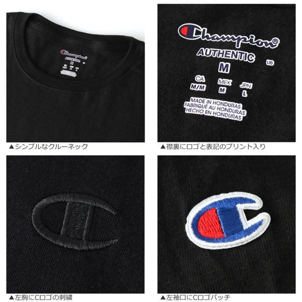 チャンピオン Tシャツ 半袖 メンズ 大きいサイズ USAモデル|ブランド 半袖Tシャツ ロゴ アメカジ|f-box|08