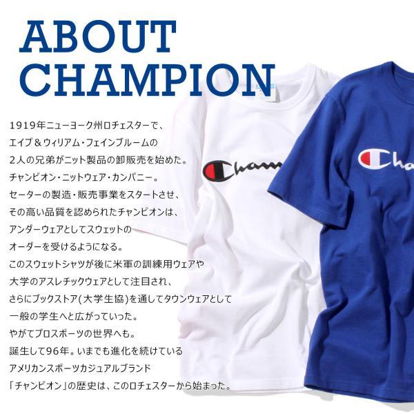 チャンピオン Tシャツ 長袖 メンズ 大きいサイズ USAモデル|ブランド ロンT 長袖Tシャツ ロゴ アメカジ|f-box|03