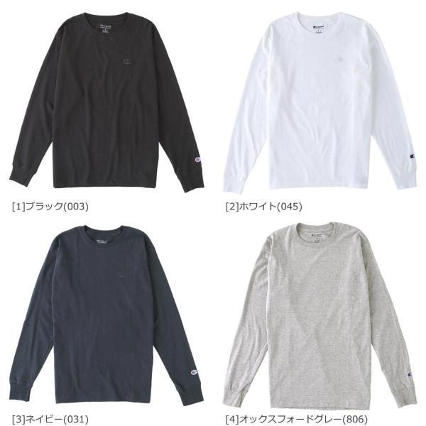 チャンピオン Tシャツ 長袖 メンズ 大きいサイズ USAモデル|ブランド ロンT 長袖Tシャツ ロゴ アメカジ|f-box|06