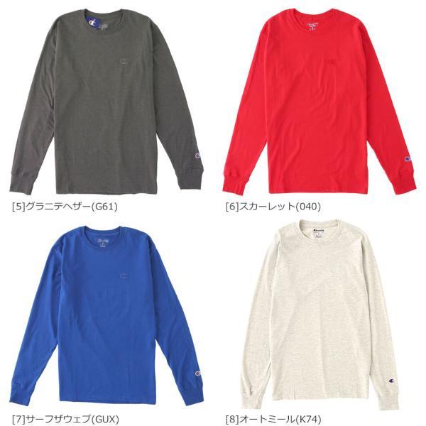 チャンピオン Tシャツ 長袖 メンズ 大きいサイズ USAモデル|ブランド ロンT 長袖Tシャツ ロゴ アメカジ|f-box|07