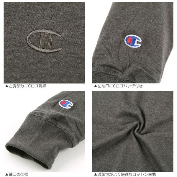 チャンピオン Tシャツ 長袖 メンズ 大きいサイズ USAモデル|ブランド ロンT 長袖Tシャツ ロゴ アメカジ|f-box|09