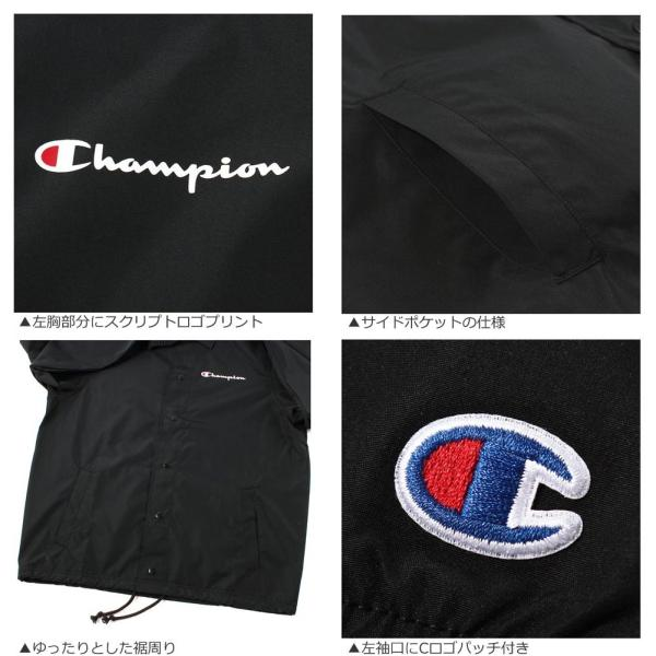 チャンピオン コーチジャケット メンズ 大きいサイズ USAモデル|ブランド ナイロンジャケット|Champion|f-box|05