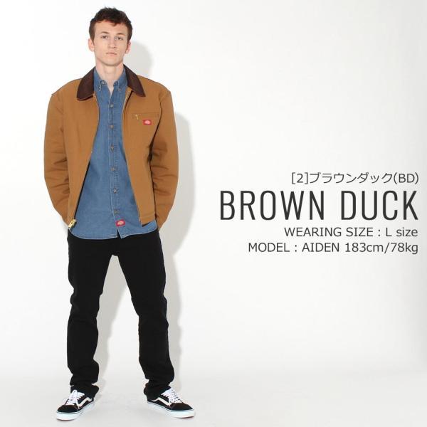 ディッキーズ ジャケット ダック ブランケットライニング 758 メンズ|大きいサイズ USAモデル Dickies|ワークジャケット 防寒 アウター ブルゾン|f-box|12