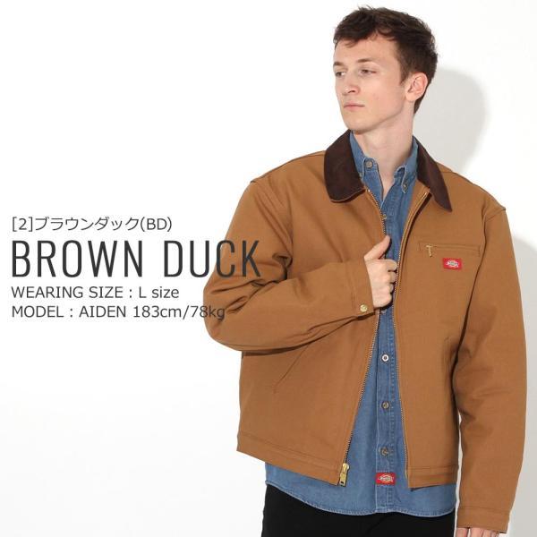 ディッキーズ ジャケット ダック ブランケットライニング 758 メンズ|大きいサイズ USAモデル Dickies|ワークジャケット 防寒 アウター ブルゾン|f-box|13