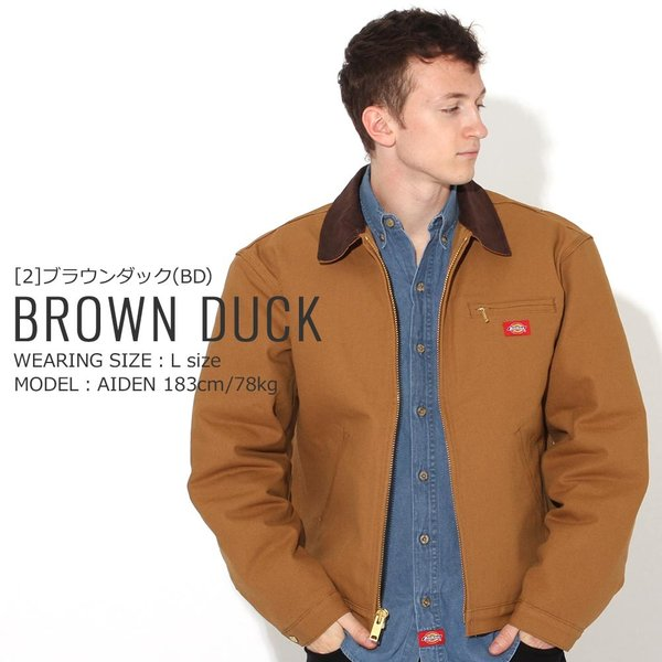 ディッキーズ ジャケット ダック ブランケットライニング 758 メンズ|大きいサイズ USAモデル Dickies|ワークジャケット 防寒 アウター ブルゾン|f-box|15