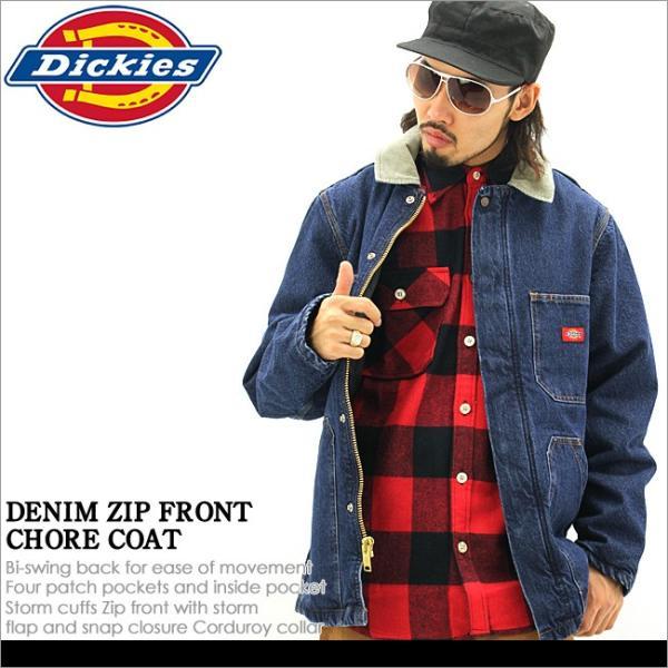 Dickies ディッキーズ ジャケット 防寒 メンズ 秋冬 デニムジャケット ワークジャケット 大きいサイズ メンズ アウター ブルゾン アメカジ ブランド f-box