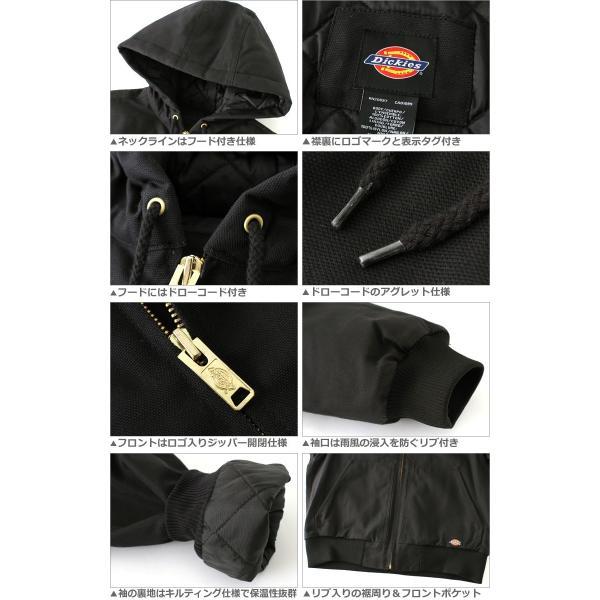 ディッキーズ Dickies ジャケット メンズ 大きいサイズ ディッキーズ アウター ブルゾン ワークジャケット 防寒 アメカジ ブランド|f-box|03