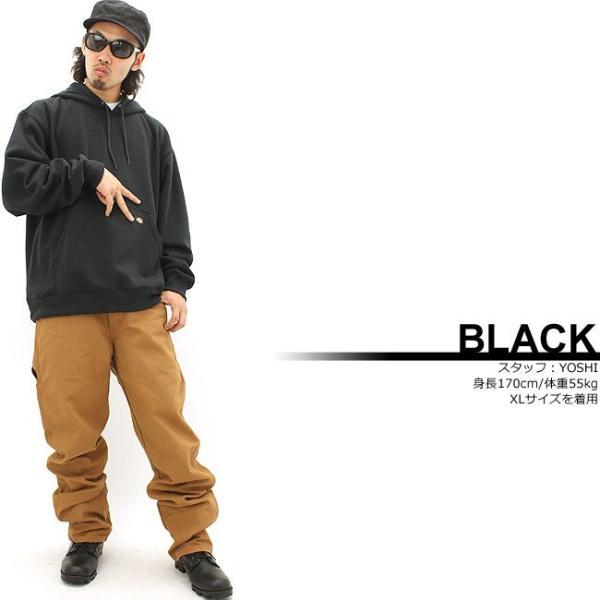 ディッキーズ パーカー プルオーバー 無地 TW392 メンズ 裏起毛 大きいサイズ USAモデル Dickies 防寒 スウェット f-box 04