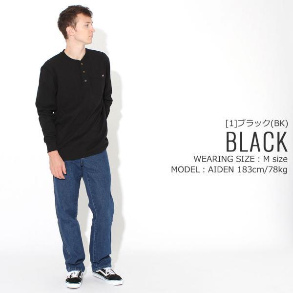 ディッキーズ Tシャツ 長袖 ヘンリーネック WL451 無地 メンズ|大きいサイズ USAモデル Dickies|f-box|10