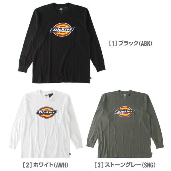 ディッキーズ Tシャツ 長袖 メンズ|大きいサイズ USAモデル Dickies|ロンT 長袖Tシャツ ロゴT|f-box|02