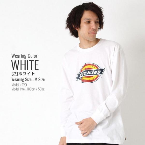 ディッキーズ Tシャツ 長袖 メンズ|大きいサイズ USAモデル Dickies|ロンT 長袖Tシャツ ロゴT|f-box|12