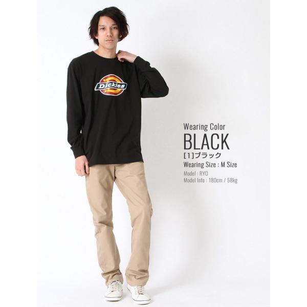 ディッキーズ Tシャツ 長袖 メンズ|大きいサイズ USAモデル Dickies|ロンT 長袖Tシャツ ロゴT|f-box|07