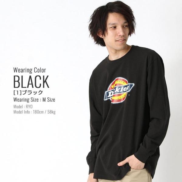 ディッキーズ Tシャツ 長袖 メンズ|大きいサイズ USAモデル Dickies|ロンT 長袖Tシャツ ロゴT|f-box|08