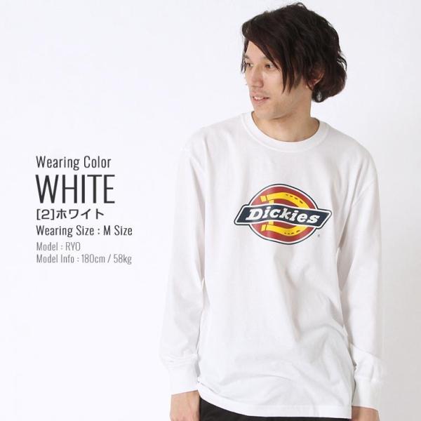 ディッキーズ Tシャツ 長袖 メンズ|大きいサイズ USAモデル Dickies|ロンT 長袖Tシャツ ロゴT|f-box|10
