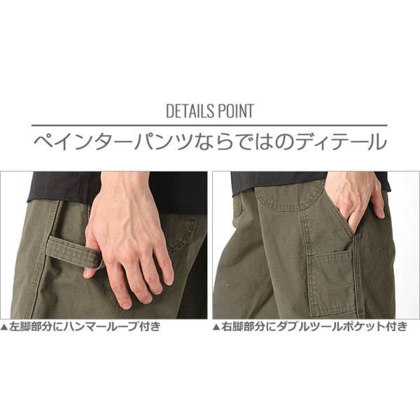 ディッキーズ ハーフパンツ ひざ下 リップストップ リラックスフィット WR825 メンズ|ウエスト 30〜44インチ|大きいサイズ USAモデル Dickies|ペインター|f-box|03